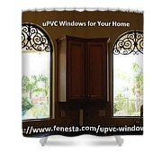 Get Your Home Beautiful By Upvc Windows Shower Curtain