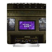 Get Your Lux On Shower Curtain