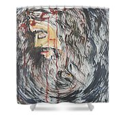 Gethsemane To Golgotha IIi Shower Curtain