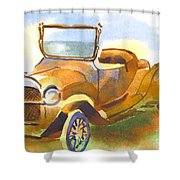 Getting A Little Rusty Shower Curtain