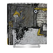 Getting Sounds  Shower Curtain