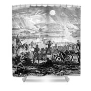 Gettysburg Battle Scene Shower Curtain