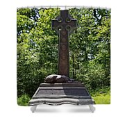 Gettysburg Irish Brigade Monument Shower Curtain