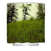 Gettysburg Landscape Shower Curtain