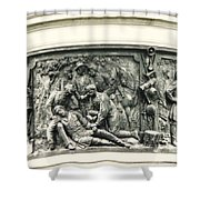 Gettysburg Monument Shower Curtain