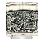 Gettysburg Monument Shower Curtain