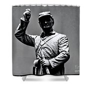 Gettysburg National Battlefield Park Shower Curtain
