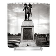 Gettysburg National Park 13th Vermont Infantry Monument Shower Curtain