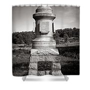 Gettysburg National Park 30th Pennsylvania Infantry Monument Shower Curtain