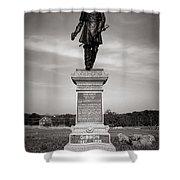 Gettysburg National Park John Gibbon Monument Shower Curtain