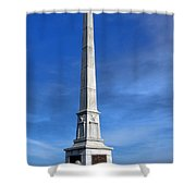 Gettysburg National Park United States Army Regulars Memorial Shower Curtain