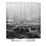 Gettysburg Shower Curtain by War Is Hell Store