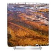 Geyser Basin Springs 7 Shower Curtain