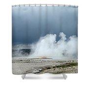 Geyser Field Shower Curtain