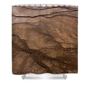 Geyser Patterns Shower Curtain