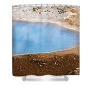 Geysir Area Shower Curtain
