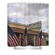 G.f. Spangenberg Gun Shop Tombstone Arizona 2004 Shower Curtain