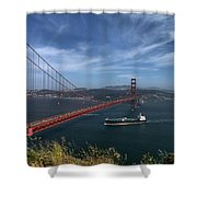 Gg_batteryspencer Shower Curtain