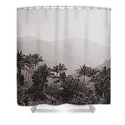 Ghats Shower Curtain