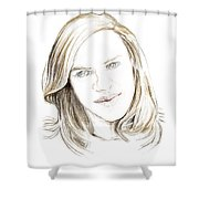 Ghost. 2014 Shower Curtain