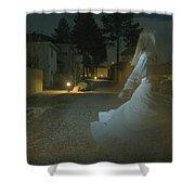 Ghost Dancer Shower Curtain by Scott Sawyer