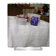 Ghost Food Shower Curtain