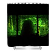 Ghost In The Window No. 2 Shower Curtain