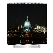 Ghost Lights Of Pa State Capital   # Shower Curtain