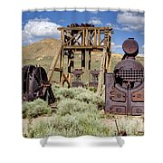 Ghost Mine Shower Curtain