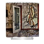 Ghost Of Time Shower Curtain