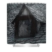 Ghost Rain Shower Curtain