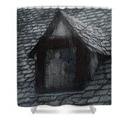 Ghost Rain Shower Curtain