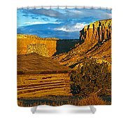 Ghost Ranch At Sunset, Abiquiu, New Shower Curtain