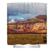 Ghost Ranch Red Shower Curtain