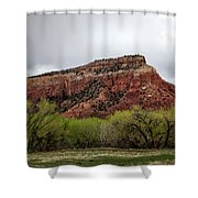 Ghost Ranch View Shower Curtain