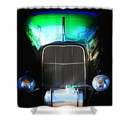 Ghost Rod Shower Curtain