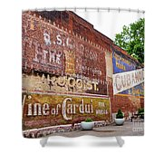 Ghost Signs In Radford Virginia Shower Curtain