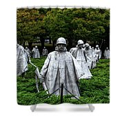 Ghost Soldiers Shower Curtain