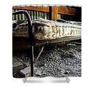 Ghost Town Accommodations  Shower Curtain