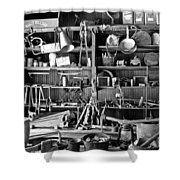 Ghost Town Mining Shower Curtain