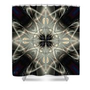 Ghostly Memories Shower Curtain