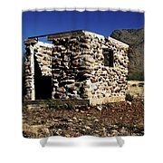 Ghostly Remains Shower Curtain