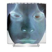 Ghostly You Shower Curtain