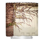 Ghosts Are Gone Shower Curtain