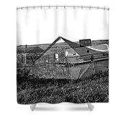 Ghosts On The Prairie Shower Curtain
