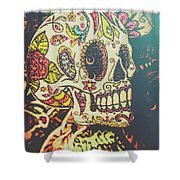 Ghoul Of Gothic Glam  Shower Curtain