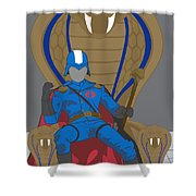Gi Joe - Cobra Commander Shower Curtain