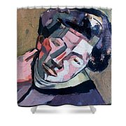 Giacometti Shower Curtain
