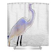 Giant Beauty Shower Curtain