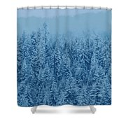 Giant Forest Shower Curtain